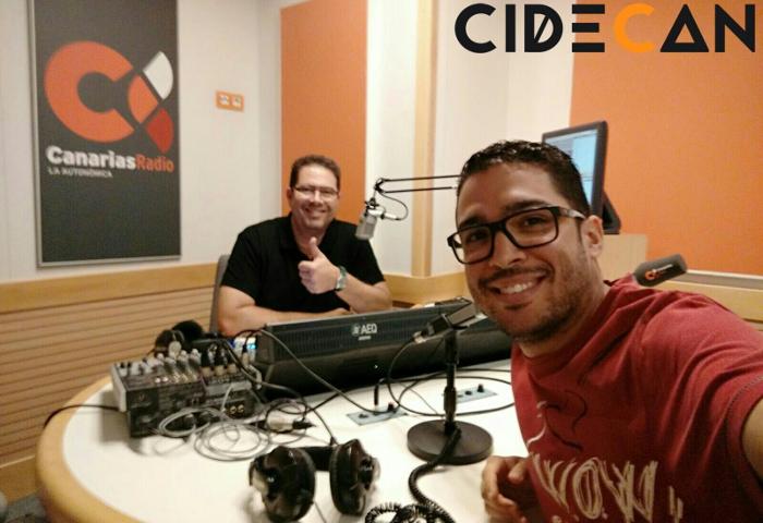"""CIDECAN en Canarias mi mundo con Ricardo Cruz, nuestro """"Utility"""""""