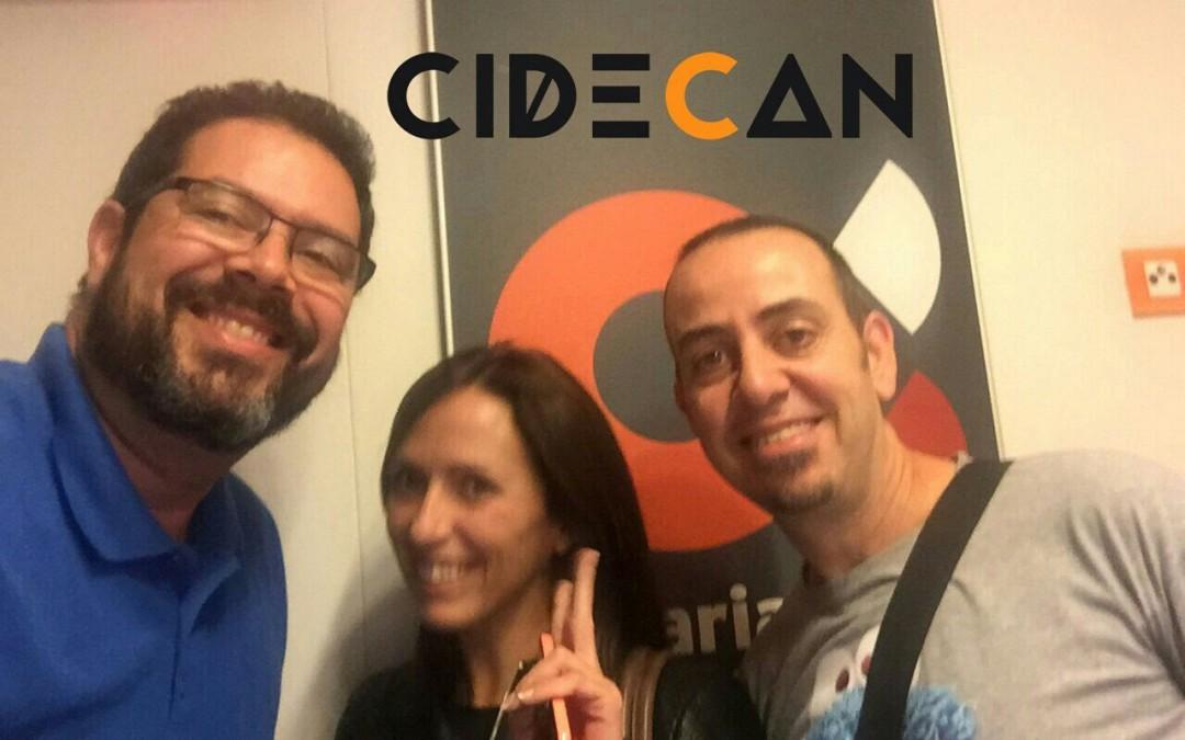 """CIDECAN en Canarias Mi Mundo con Pedro Báez Díaz y Natalia González, """"The Boss"""" y """"Explorer"""" hablando de política y tecnología"""