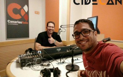 CIDECAN en Canarias mi mundo con Ricardo Cruz, nuestro «Utility»