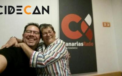 CIDECAN en Canarias mi mundo con Carmen Ruano, la «Writer»