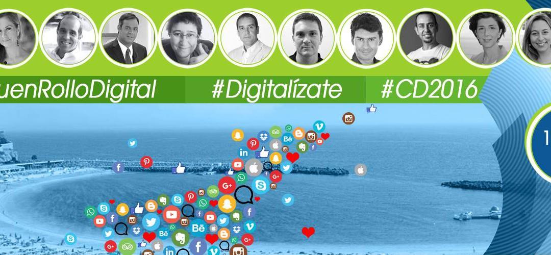 Cidecan estará en el evento Canarias Digital con su #BuenRolloDigital.