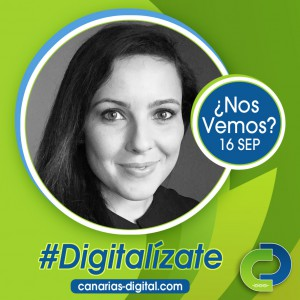 Bea Vega - Componente de Cidecan en el evento Canarias Digital