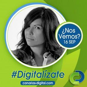 Isa Robayna - Componente de Cidecan en el evento Canarias Digital